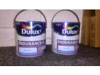 Dulux Endurance + Matt Paint -Mineral Mist -Light Blue -2.5L interior Tough Emulsion + 1 Bonus Can!