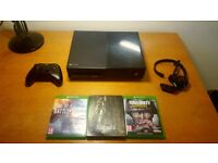 XBOX ONE 500GB INCLUDING GAMES