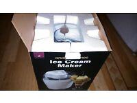 22/05/17 icecream maker andrew james as new