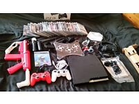 Large PS3 bundle, 20+ games, PS3 move and Disney infinity!