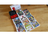 Nintendo DS Lite red and 15 games
