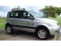 Fiat panda 4x4, 2006, mot march, 4wd