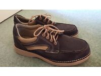 New Clarks 'Lawson' Navy Shoes Size 8.5