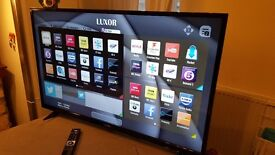 LUXOR 43-Inch SMART 4K ULTRA HD LED TV, Built-in Wifi,Freeview HD,Netflix, FULLY WORKING