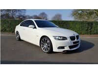 BMW 320d Msport Coupe, Full Service History, white