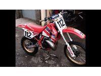 Honda cr 250 1989 model