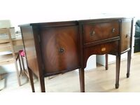 Antique victorian mahogany sideboard cabinet. Perfect condition.