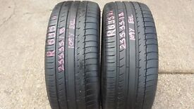 "18"" BRIDGESTONE GOODYEAR MICHELIN PIRELLI TYRES FROM £30.00 FITTED"