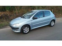 2005. Peugeot 206 Verve, 1.4 hdi. Road TAX - £30 P/YEAR. MOT - 20. December.2017. Manual.