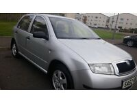 SKODA FABIA SILVERLINE 1.4 FULL SERVICE HISTORY BEAUTIFUL CONDITION.