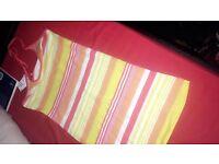 Summery bright coloured dress