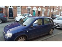 Vauxhall Corsa for spares or repairs