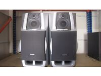 AIWA SX-ZHT 730 3-WAY BASS REFLEX SPEAKERS.