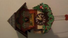 Cuckoo Clock works with Pendulum Manual