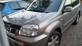 Nissan xtrail columbia model with colour sat nav and updated dvd rom