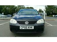 Volkswagen Golf 1.6 FSI Match 5dr STUNNING Black 6 Months Warranty
