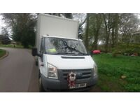 transit box van reluctant sale only £4095 ono , 119000 miles only