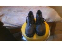 Steel Toe Cap Boots - Mens size 7 - like new - £10