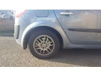 """Set 15"""" Alloy Wheels with tyres. Renault Clio Sport."""