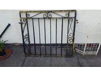 Wrought iron gates 46x46 each gate