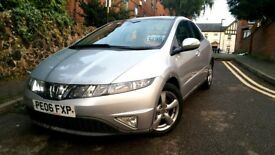 Honda Civic ES 2.2 I-CTDI Diesel 2006 Silver *Panoramic Roof*
