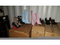 Ladies boots and shoes. Wholesale clearance. Joblot