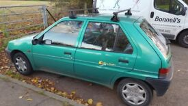 Peugeot 106 1.5D Keywest 60500 miles clean car
