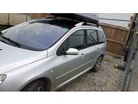 Peugeot 307 sw 2.0 Hdi - 7 seater