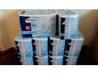 NEW 10 PACKS OF 30 X TENA SLIPS PLUS SIZE M