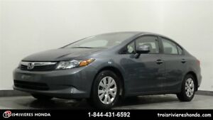 2012 Honda Civic LX bluetooth
