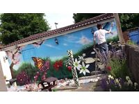 The Paintsmiths: Highly skilled Mural, Graffiti and Street Artists