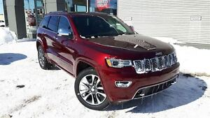 2017 Jeep Grand Cherokee Overland +Cuir, Roue 20 PO, Toit Pano,
