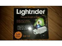 LIGHTRIDER Front Bicycle light RIS system