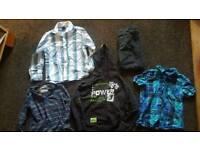 Bundle of boys clothes age 6-7