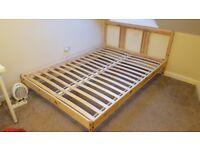Ikea TARVA double bed