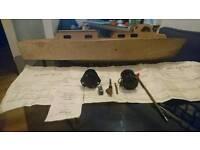 Vosper RAF crash tender boat