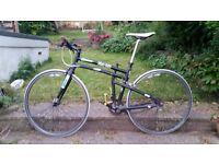 SINGLE SPEED FOLDING Montague Boston 700c Wheel Bicycle