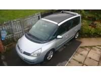 RENAULT ESPACE 1.9 DCI TURBO DIESEL 110K FULL SERVICE FULL GLASS SUNROOF 6-SPEED TIMING DONE
