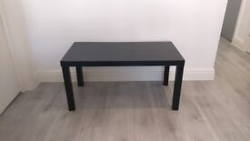 Argos Home Coffee Table - Black