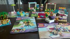LEGO FRIENDS BUNDLE 41019 42009 3931 41011