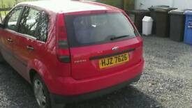 Ford fiesta for parts of repair