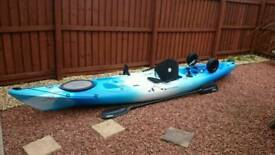 Perception triumph sea fishing kayak 13