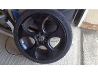 "18"" 5x112 Monza Alloy Wheels - VW Audi Seat"