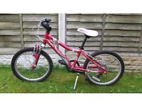 "Girls 20"" Mongoose mountain bike in pink. In good condition!"