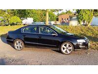 VW Passat 2.0 tdi 140bhp black 2005 55 manual B6 £1,800 ono