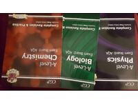 A level AQA revision guide - 3 CGP Books