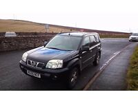 Nissan x trail 55 plate 4x4 petrol, great jeep