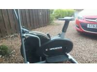 Cross step trainer/cycle