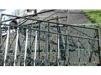 ,Two gates for driveway 5 by 5 each heavy strong gates cheap for quick sale