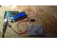 Arduino R3, LCD, breadboard & buttons